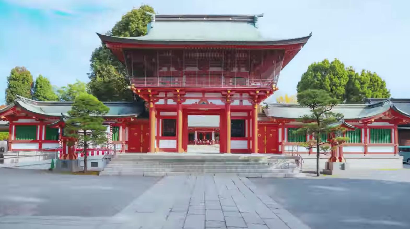 藤崎八旛宮に行ってきたよ。。熊本市の総鎮守として信仰を集める神社に行ってみなっせ〜