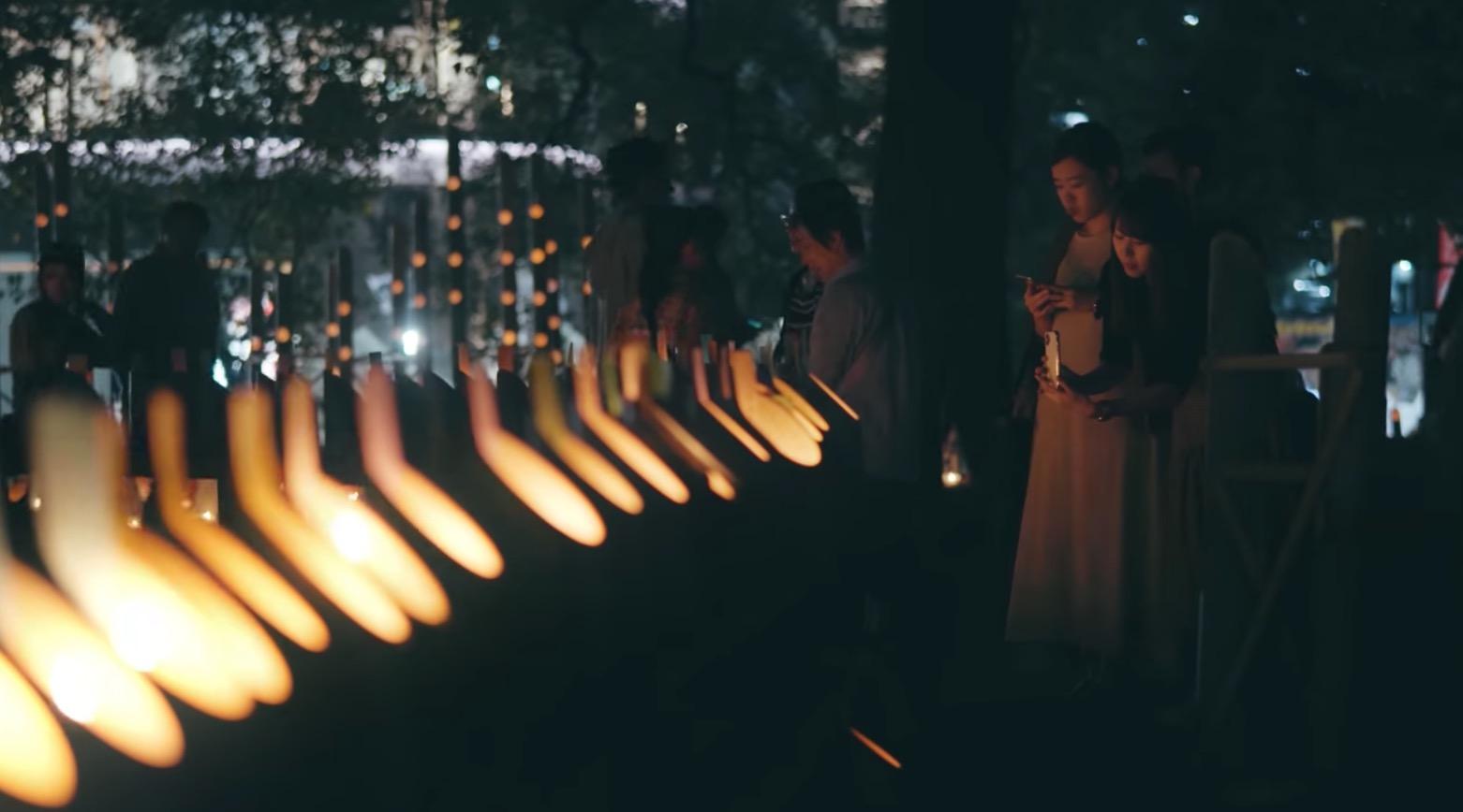 みずあかりについて調べてみたよ。幻想的な灯りの祭典に行ってみらんね?
